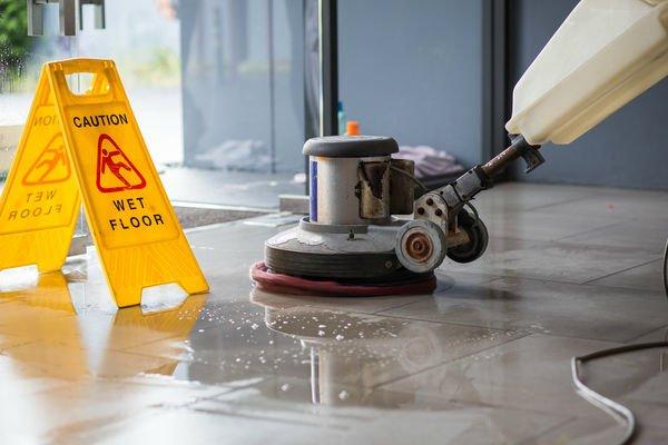 Floor Polishing & Buffing